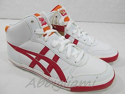 SCARPE ASICS ONITSUKA TIGER AARON  DONNA BIANCO ROSSO
