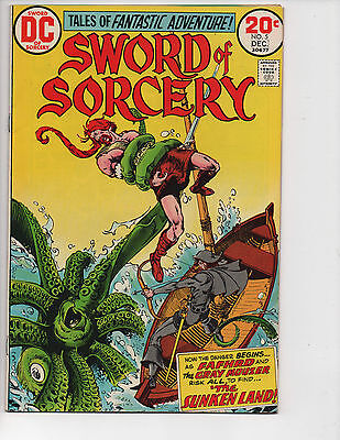 Sword of Sorcery #5! VF/NM (9.0)! Great Bronze Age! Sign Up for our Newsletter!