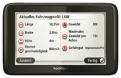 TomTom Work Pro 7100 Europa Truck Edition Navigation