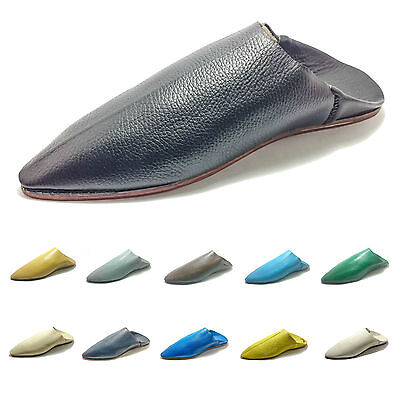 Moroccan Traditional Babouches, Slippers for Men, Handmade Leather, Of Choice