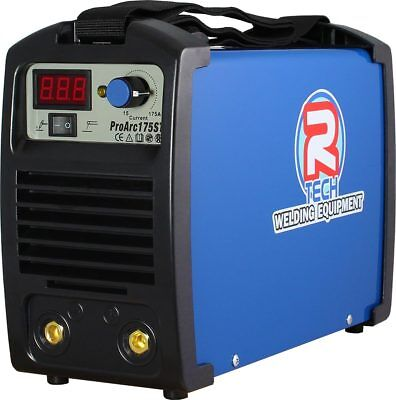 ARC Welder - MMA Portable Inverter Welder 175Amp 240V, R-Tech Pro-Arc175