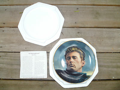 """Plate 3 """"Hollywood Cool"""" in The James Dean Collection / With Box & COA / Bradex"""