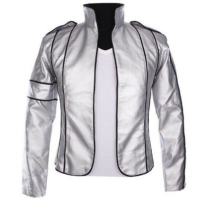 Rare MJ  Heal The World Silver Jacket to the Memory of Michael Jackson Anti-war