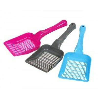 Animal Instincts Cat Litter Scoop Assorted Colours 28cm