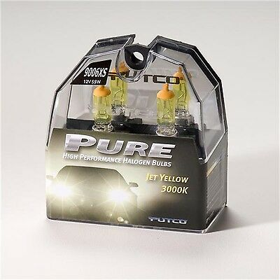 Putco Lighting 239006XJY Halogen Head Light Bulb Jet Yellow 9006XS Pair