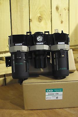 CKD F.R.L. Filter Regulator Lubricator C4000-15N