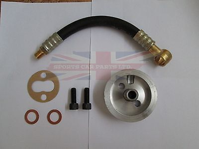 New Spin On Oil Filter Adaptor Kit  MG Midget 1963-1974 Austin Healey Sprite