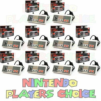 WHOLESALE LOT 10 NEW Controllers for NES Nintendo System Control Pads NIB