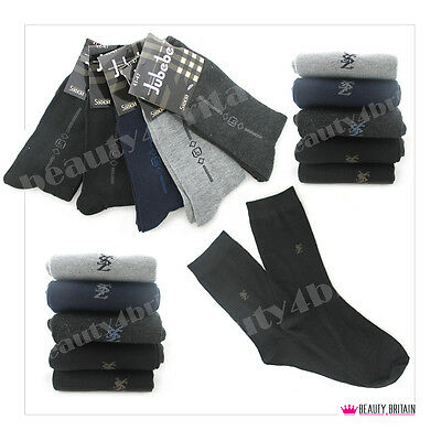 40 Pairs Men Warm Socks Cotton Rich 82% Thick Many Different Designs Wholesale