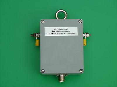 High Power 1:1 Balun for 160m - 10m Bands (1.8 - 30MHz)
