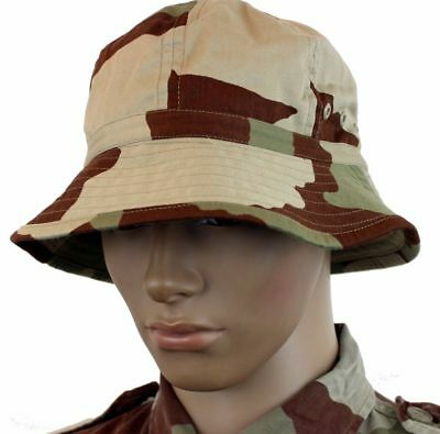 GENUINE FRANCE FRENCH ARMY BUSH HAT in F2 DESERT CAMO