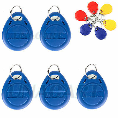 Proximity EM4100 125KHz RFID ID Smart Card Tag Token Key Chain Keyfob Read Only