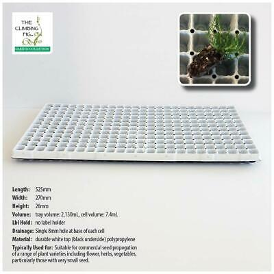 288-cell SEEDLING PLUG TRAY pack. Bulk propagation of plants, with seed options.
