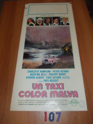Un Taxi Color Malva, 1977