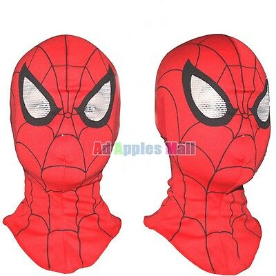 Child Adult Halloween Dance Party Spider-Man Mask Party Role Play Headgear Hat