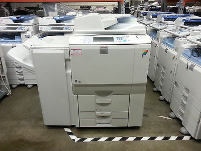 RICOH MP C6000 Copier, Printer Scanner & Fax with Finisher