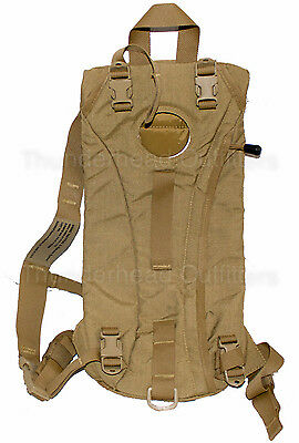 USMC Military WXP 3L 100oz Hydration Carrier Backpack Camelbak ILBE Coyote 1Z VG