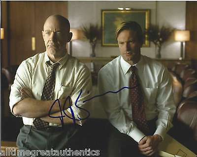 J.K. SIMMONS SIGNED AUTHENTIC 'THANK YOU FOR SMOKING' 8X10 PHOTO w/COA PROOF