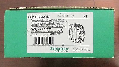 TELEMECANIQUE GROUPE SCHNEIDER Contactor 440V 65 Amp 36 VDC LC1D65ACD