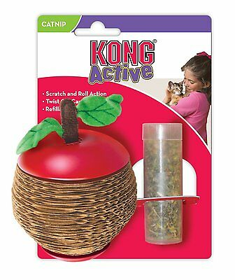 Kong Cat Scratch Apple with Catnip Corrugate Scratcher Cat Toy