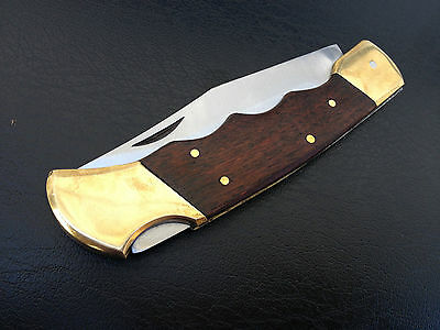 Hunting Fishing Outdoors Camp Hike Survival Pocket Knife blade camping knives
