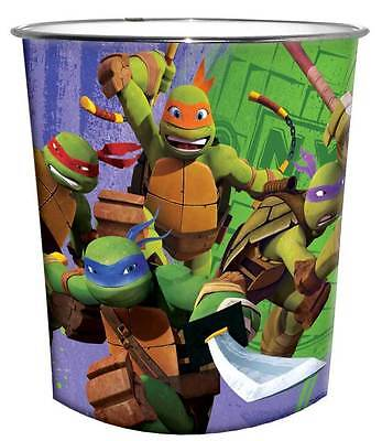GIM40 Teenage Mutant Ninja Turtles Kinder Papierkorb Mülleimer Abfalleimer