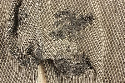 Work wear clothes pants Trousers Antique French chore wear TIMEWORN pants GRAY