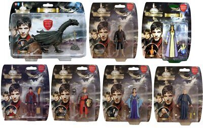"""BBC TV SERIES ADVENTURES OF MERLIN 3.75"""" ACTION FIGURE - Choice of 7 figures"""