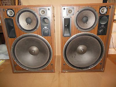 Sansui SP-7500X SPEAKERS Pair / Tested and working perfectly
