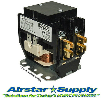 Trane Contactor - 30 Amp 2 Pole 24v C147094P03 Replacement / Brand New