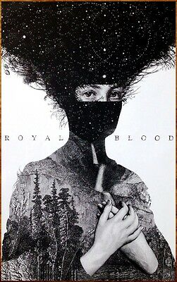 ROYAL BLOOD S/T Ltd Ed Discontinued RARE Poster +FREE Punk Indie Rock Poster!
