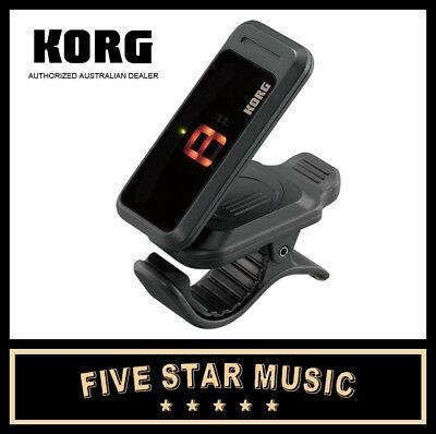 Korg Pitchclip Chromatic Guitar & Bass Tuner Pitch Clip On Tuner Pc-1