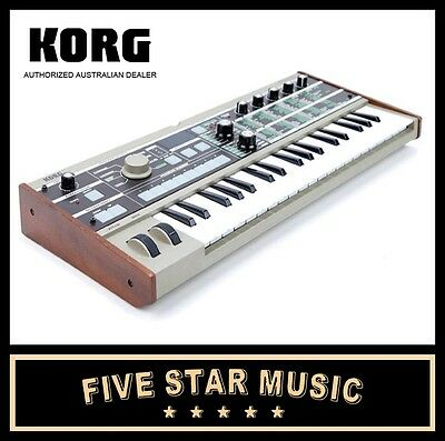 Korg Microkorg Synthesizer Keyboard Mikro Micro Keys Vocoder Synth New