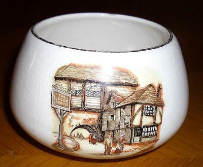 Vintage Lancaster And Sandland Sugar Bowl The Jolly Drover