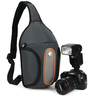 Waterproof Caseman DSLR Camera Bag Case Shoulder Bag Backpack for Canon Nikon