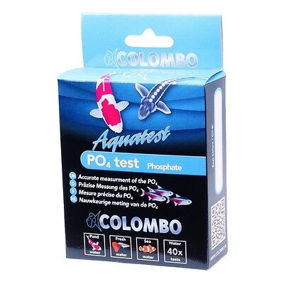 NEW Colombo Aquarium / Pond PO4 Phosphate Test Kit Tropical Fish Discus Koi Carp