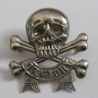 BRITISH ARMY BADGE. THE 17th. LANCERS.
