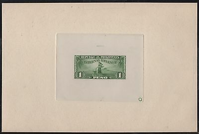 Phils Revenue (14) Diff. Large Due Plate Proofs On India, Sunk On Card Wl7344