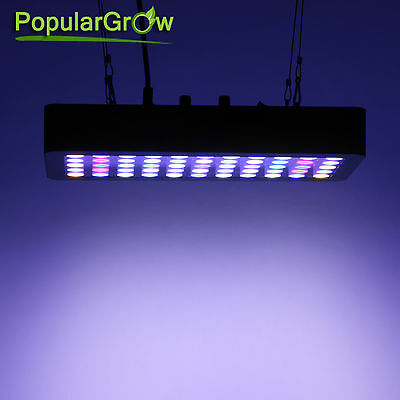 Dimmable 165W  LED Aquarium Light Full Spectrum Reef Marine Coral Fish Tank Lamp