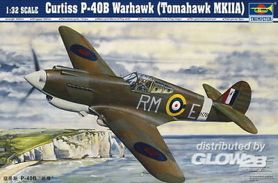 Trumpeter Curtiss P-40B Warhawk in 1:32 9362228 Trumpeter 02228