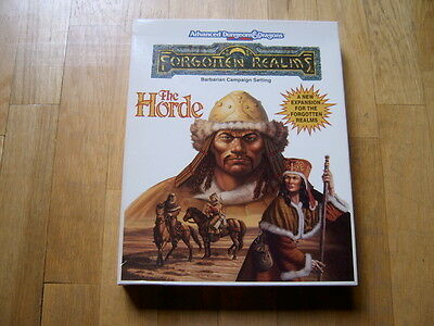 Advanced Dungeons & Dragons - The Horde Box - Forgotten Realms - rol AD&D - TSR
