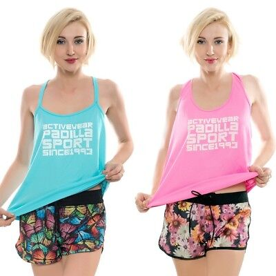 Ladies Tank Top Casual Sports Active Wear Women Running Gym Pilates Yoga Clothes