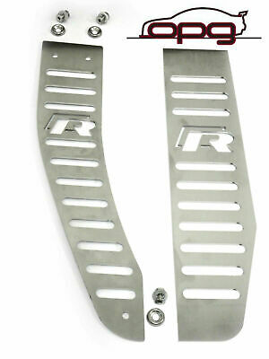 Footrest Cover Kit Vw Scirocco R Left &  Right New