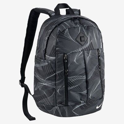 29090d0083e5 Nike Auralux Rucksack Backpack Ladies Luxury Sports Training Bag Black bag