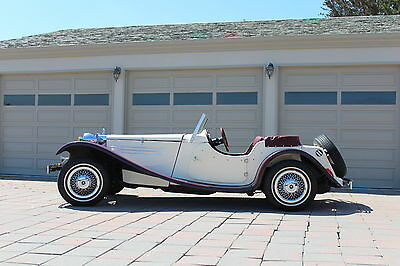Replica/Kit Makes : 1936 Mercedes-Benz Reproduction Special Roadster / Barron  1987 mercedes benz reproduction of 1936 mercedes benz convertable