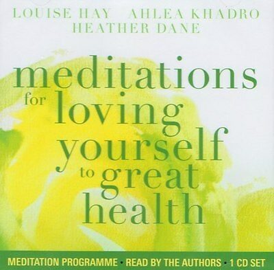 Meditations for Loving Yourself to Great Health CD by Louise Hay New & Sealed