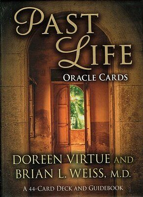 Past Life Oracle Cards by Doreen Virtue & Brian L. Weiss New & Sealed
