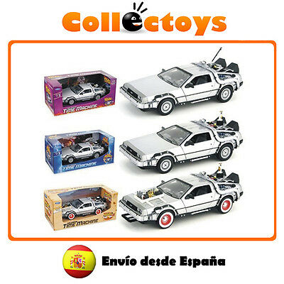 Delorean - Coche Regreso al Futuro I,II,III - Welly -Back to the Future - Coches