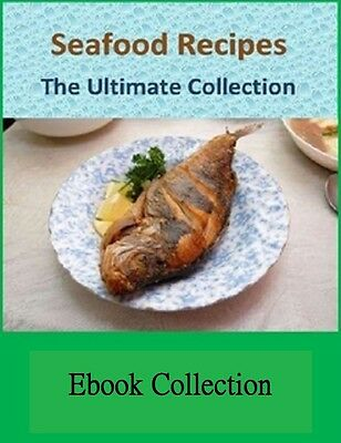 Over 1600 Collection of Seafood Recipes TROUT BASS CRABS & MORE (eBook-PDF file)