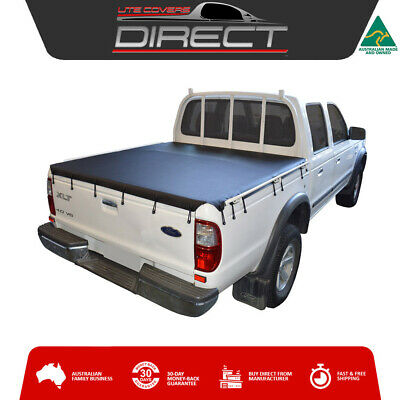 Ford Courier PE-PG-PH Dual Cab Ute (1999 to 2006) Bunji Tonneau Cover Tarp